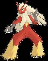 Pokemon: Blaziken by Kidel
