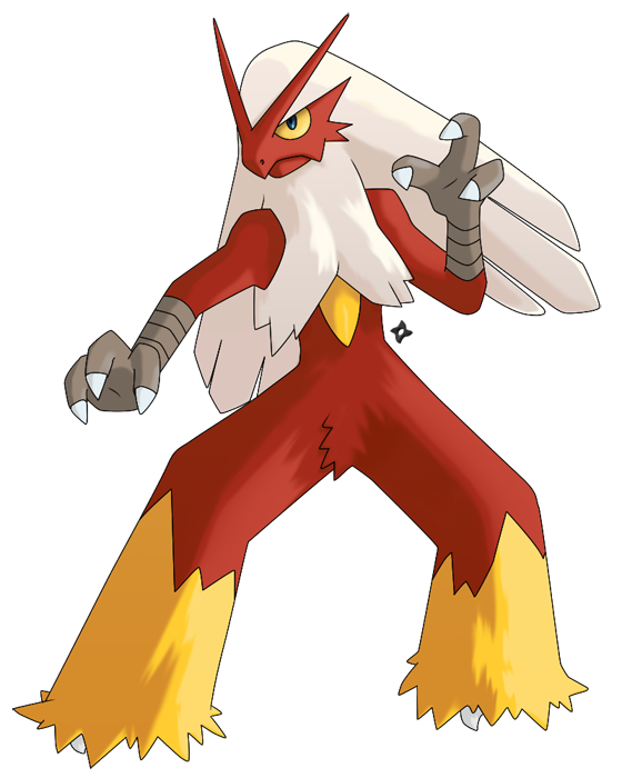 Pokemon: Shiny Blaziken by Kidel on DeviantArt
