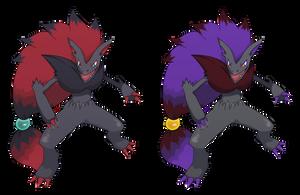 Pokemon: Zoroark by Kidel