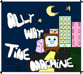 AllyWayTimeMachine Album Cover