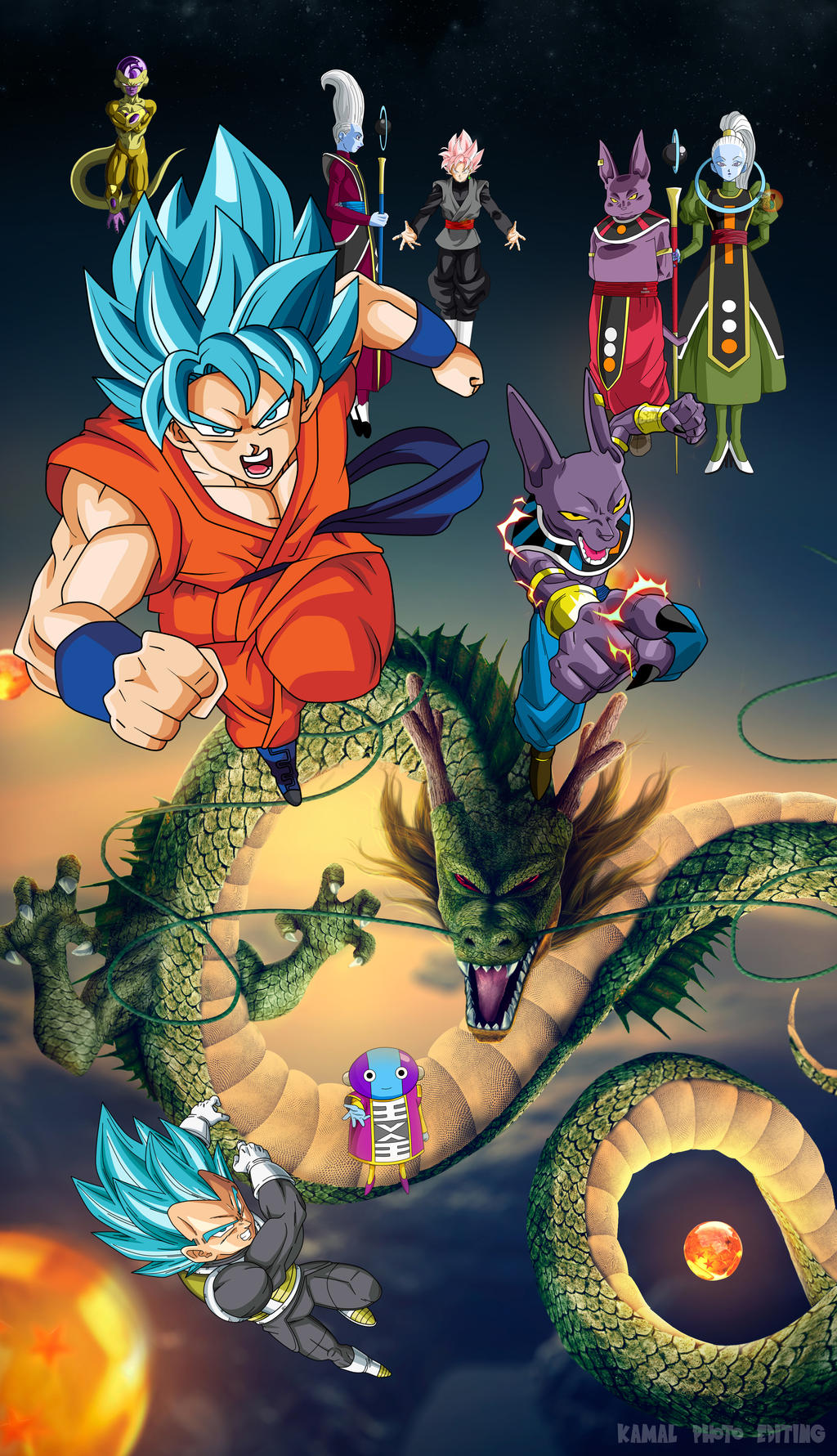 Dragon Ball Super Wallpaper Phone By Kamal By Kamal87malst3n On Deviantart