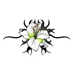 Lily tribal by spunkymonkey