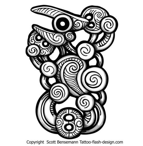 Maori Tattoo Designs Wallpaper: Maori Pattern By Spunkymonkey On DeviantArt