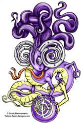 healing dragon by spunkymonkey