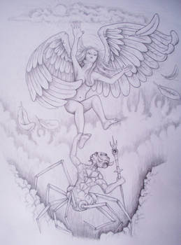 angel and the spider
