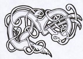 celtic dog 02 by spunkymonkey