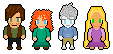 Big Four Sprites by lTofSMITIA