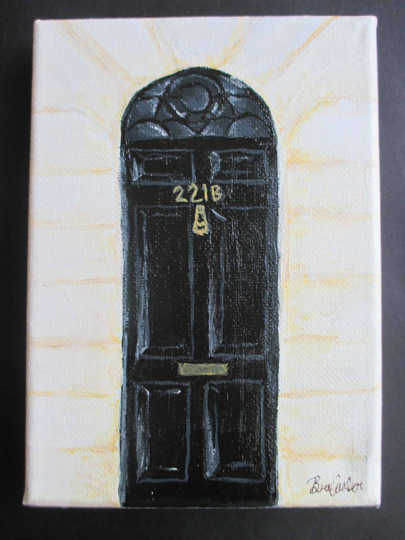Sherlock - 221 B. Baker Street by GabrielleCarlson