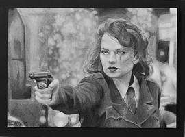 Agent Peggy Carter by GabrielleCarlson