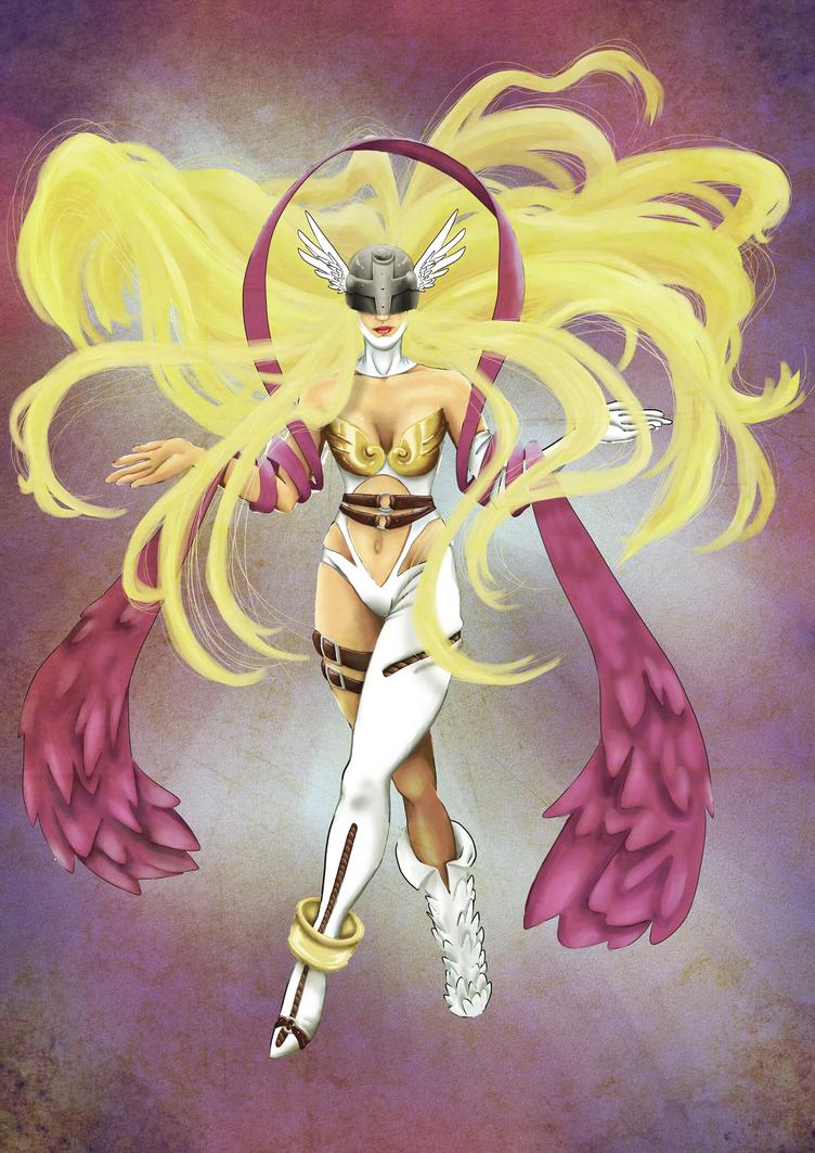 Angewomon II by G-gG