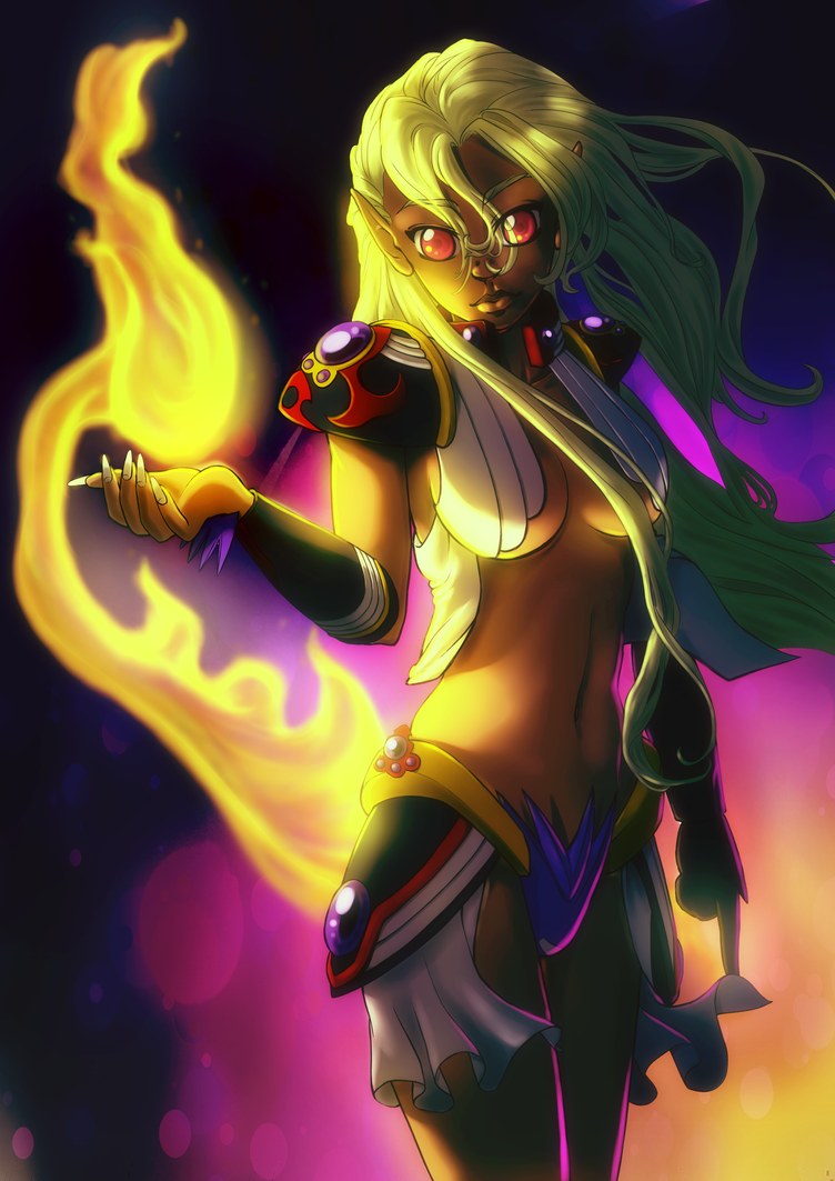 Queen of the Fire and the Woods (Adamantha) by G-gG