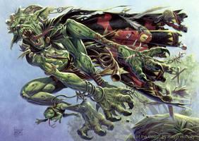 Frogtosser Banneret by RalphHorsley