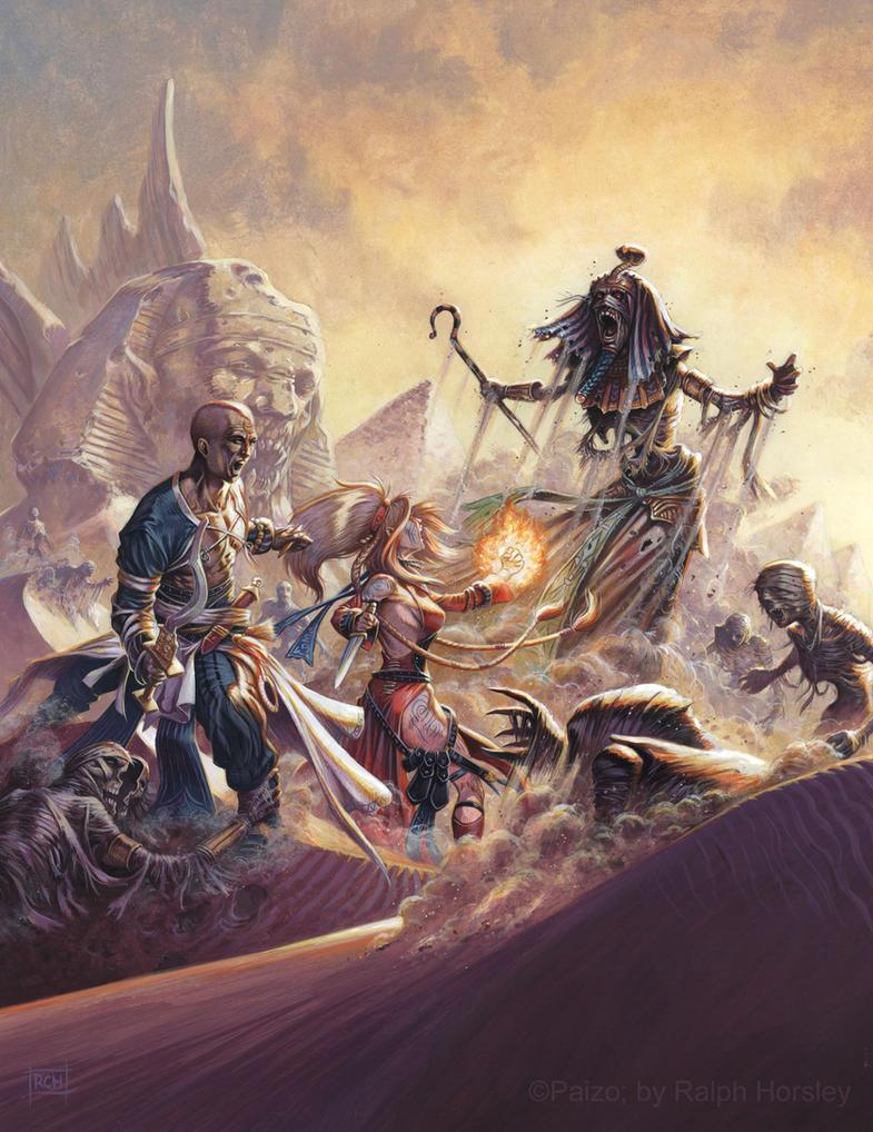 Osirion: Land of Pharoahs by RalphHorsley