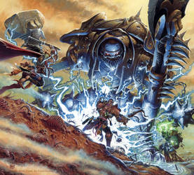 Warforged Titan by RalphHorsley