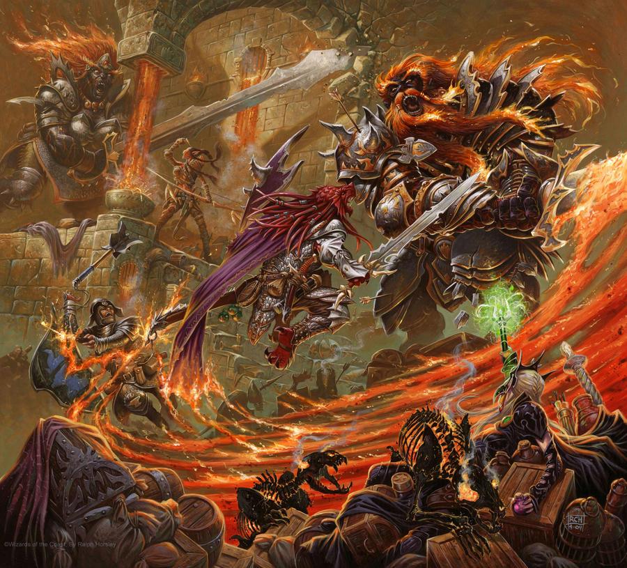 Fire Giants: DMG2 By RalphHorsley On DeviantArt