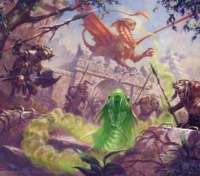 Jungle Encounter by RalphHorsley