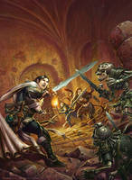 Heroes of the Fallen Lands by RalphHorsley