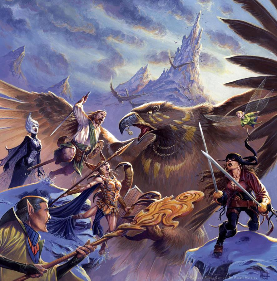 talisman the highlands by ralphhorsley on deviantart