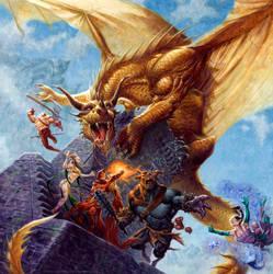 Dragon Tower by RalphHorsley