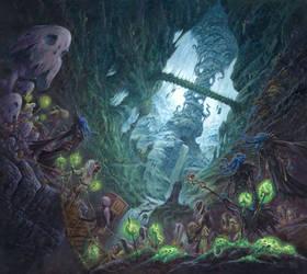 Beyond Menzoberranzan by RalphHorsley