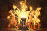 Brazier of Dancing Flames