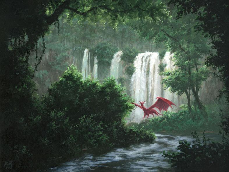 Cascade by RalphHorsley