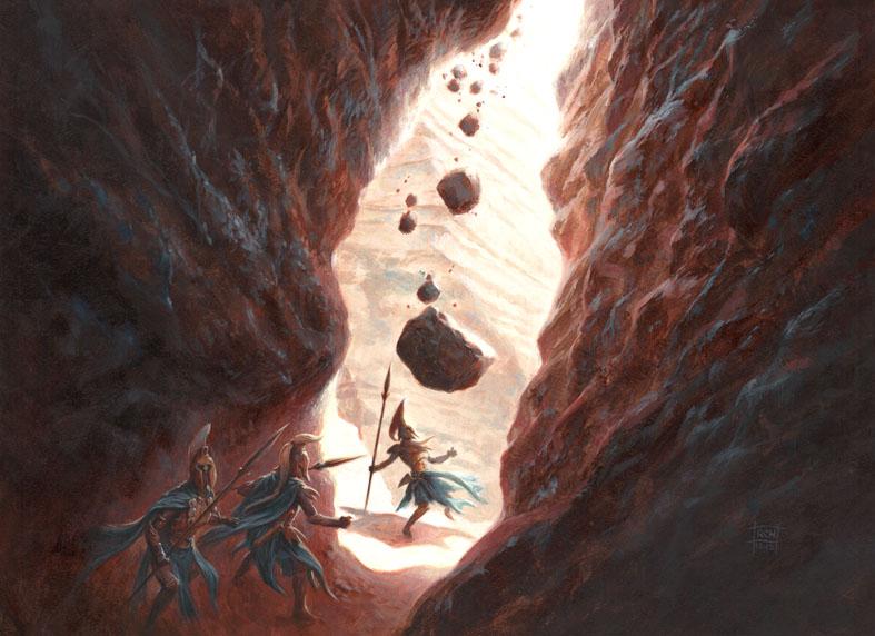 Boulderfall by RalphHorsley