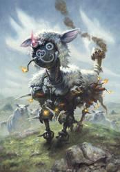 Explosive Sheep by RalphHorsley