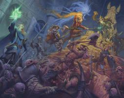 Dungeon Saga by RalphHorsley