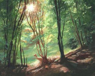 Solitude by RalphHorsley
