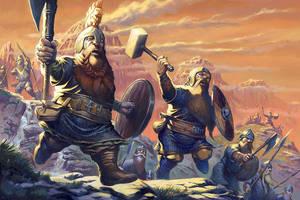 Oathmark: Dwarf Infantry by RalphHorsley