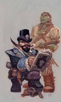 Dwarf Loanshark by RalphHorsley