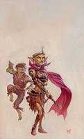 Goblin Queen by RalphHorsley