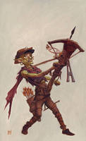 Goblin Sharpshooter by RalphHorsley