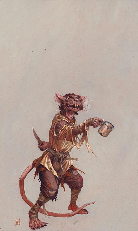 Ratman sewer dwell by RalphHorsley