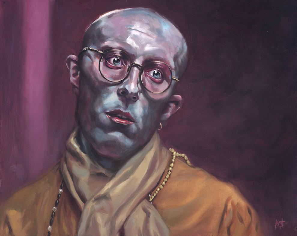 Hare Krishna Zombie by RalphHorsley