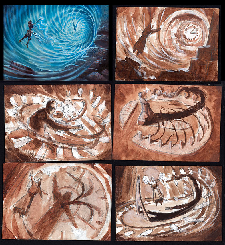 Timetwister Composition Studies by RalphHorsley