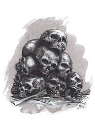 Skulls for Khorne!! by RalphHorsley