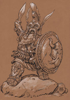 Grecian Dwarf Hero