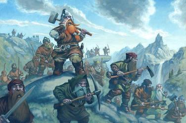 Dwarf Light Infantry
