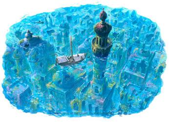 Ahjuutal Rising by RalphHorsley