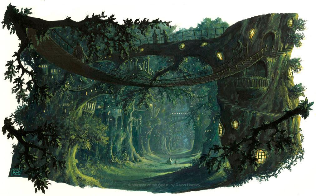 Tall Trees by RalphHorsley