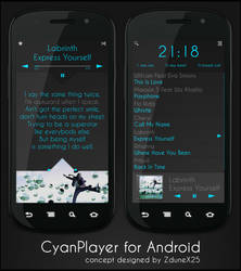 CyanPlayer Concept
