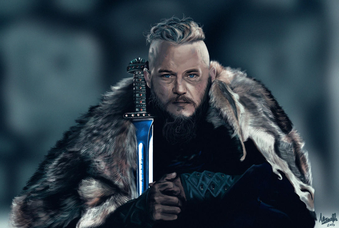 Ragnar lothbrok vikings by heartofthesunrise