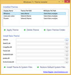 Windows 7+ Theme Installer