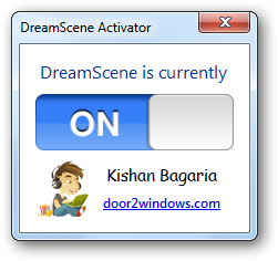 Dreamscene activator by kishan bagaria on deviantart for Door to windows