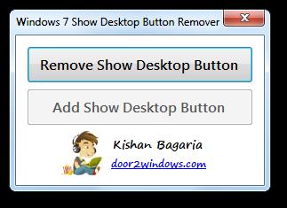 7 Show Desktop Button Remover by Kishan-Bagaria