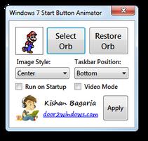 Win 7 Start Button Animator