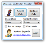 Win 7 Start Button Animator