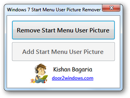 Windows 7 User Picture Remover by Kishan-Bagaria